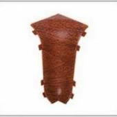 Угол внутренний для плинтуса ПВХ Ideal Комфорт (в цвет плинтуса)