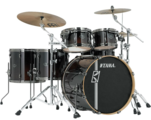 TAMA ML52HLZBNS-DMF SUPERSTAR HYPER-DRIVE MAPLE CUSTOM DARK MOCHA FADE ударная установка из 5 барабанов, цвет кофейный бёрст (6,5х10 и 7х12 томы, 14х16 и 7X12 напольные томы, 18х22 бочка, том-холдер MC69- 2 шт.)