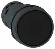 Кнопка чёрная, без фиксации, 22мм, 1Н.О.+1Н.З. Schneider Electric, XB7NA25