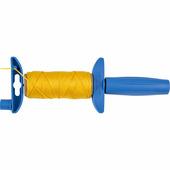 Отвес строительный со шнуром ЗУБР 30 м, нейлоновый, желтый, шнур для строительных работ 06410-30
