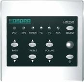 DSPPA HM-20R Выносная панель управления системой музыкальной трансляции. Возможность дистанционного