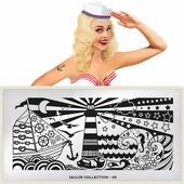 Пластина для стемпинга MoYou London Sailor 09