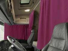 Комплект автоштор Эскар Blackout - auto XLK, бордовый, 2 шторы 240 х 100 см, 2 шторы 120 х 160 см, 2 подхвата, 2 гибких карниза 3 + 5 м