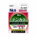 Шнур для тенкары Nissin Level Line #3.5, 20 м, 100% флюорокарбон, ярко-розовый