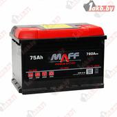 Автомобильный аккумулятор MAFF Premium (75 A/h), 780А R+ низкий