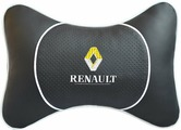 """Подушка на подголовник Auto Premium """"Renault"""", цвет: черный. 37530"""