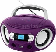 Портативная аудиосистема BBK BS15BT фиолетовый