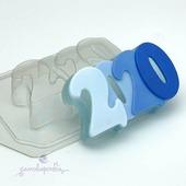 2020, форма для мыла пластиковая
