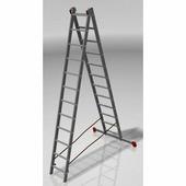 Лестница двухсекционная Новая Высота (2х13 ступеней)