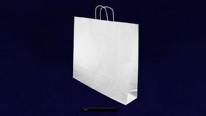 Пакет бумажный с кручеными ручками белый 480*450*120 (80гр/м).755М5-N4