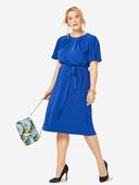 Электронная выкройка Burda - Платье расклешенного силуэта №6305 B