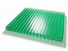 Поликарбонат сотовый Sunnex Зеленый 8 мм