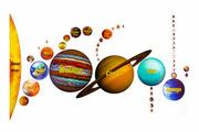 Пазл Гео-Магнит Солнечная система 47 шт.
