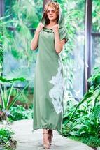 Платье Euromoda 80 хаки