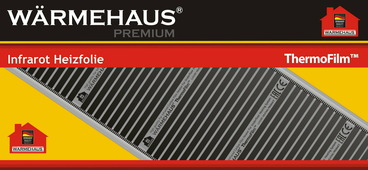 Электрический теплый пол Warmehaus ThermoFilm HP 880 Вт, 4 м2 (комплект)