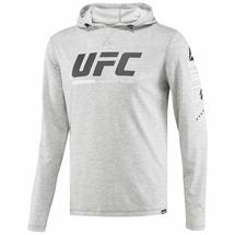 Толстовка REEBOK Ultimate Fan Pullover (M, серый)