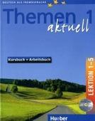 """Hartmut Aufderstrasse """"Themen aktuell 1 Kursbuch + Arbeitsbuch Lektion 1-5 mit integrierter Audio-CD und CD-ROM (+ CD-ROM)"""""""
