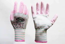Перчатки защитные (п/э. полиуретан), размер 7, микс