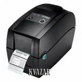 """Принтер этикеток Godex RT200, термо/термотрансферный принтер, 203 dpi, 5 ips, ширина 2.24"""", (полдюймовая втулка риббона), и/ф USB+RS232+Ethernet"""