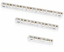 PS3/12 3-фазная шинная штырьковая разводка на 12 модулей 63 А ABB, 2CDL230001R1012