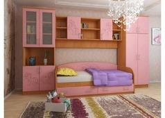 Набор мебели Весёлые пони (ольха, розовый)