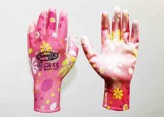 Перчатки защитные (п/э. полиуретан), размер 8, микс