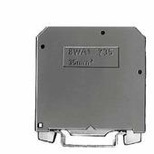 Клеммник для установки на DIN-рейку 16мм.кв. (желто-зеленая) Siemens, 8WA10111PM00