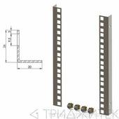 Комплект направляющих шкафов Lite, дополнительный (2 шт.), 9U
