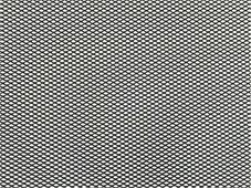 """Решетка радиатора декоративная """"DolleX"""", 100 х 30 см, ячейки 6 х 3,5 мм, цвет: черный"""