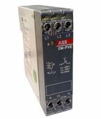 CM-PVE Реле контроля напряжения (контроль 1,3 фаз) (контроль Umin/max с нейтралью, 3х320-460В, L-N 185..265В AC ) 1НО ABB