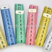 Сантиметр лента для измерения длины, Белая, Двусторонняя