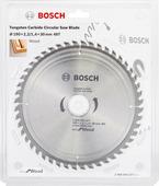 Пильный диск 190х30 мм 48 зуб. по дереву ECO WOOD BOSCH (твердоспл. зуб) 2608644377