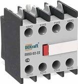 Приставка контактная фронтальная, доп.контакты 2НО+2НЗ, ПК03-02-22 DEKraft Schneider Electric, 24105DEK