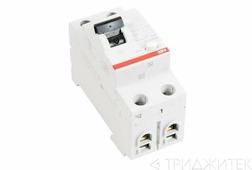 Выключатель дифференциального тока (УЗО) 2п 25А 30мА FH202