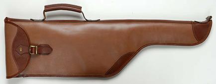 Чехол ружейный Тайга кожаный