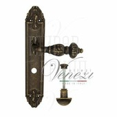 Дверная ручка на планке Venezia Lucrecia PL90 античная бронза wc
