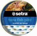 Setra паштет из тунца, 80 г