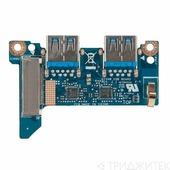 Плата для ноутбука Asus G75VW USB 3.0 BD