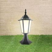Уличный наземный светильник 1004 1004S черный (GL 1004S)