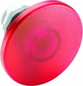 Кнопка MPM2-11R грибок красная (только корпус) без фиксации с подсветкой 60мм ABB, 1SFA611125R1101