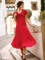 Электронная выкройка Burda - Платье с втачным поясом 101