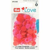 Кнопки Color Snaps пластик 30 шт разноцветные Prym Love 393002