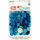 "Кнопки Color Snaps ""Звезда"" пластик 30 шт разноцветные Prym Love 393060"
