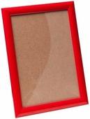 Рамка 70*100 алюминий клик 25мм Красный