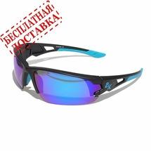 Очки солнцезащитные 2K S-15001-E (тёмно-серый / синие revo)