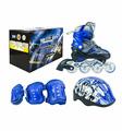 Коньки роликовые MaxCity Volt blue L(39-42)