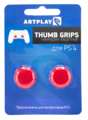 Накладки Artplays Thumb Grips на стики геймпада (Красные) [PS4]