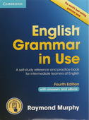 """Raymond Murphy """"English Grammar in Use (Fourth Edition) Book with answers and Interactive eBook"""""""