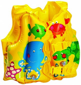 INTEX 59661 Жилет надувной Рыбка для детей 3-5 лет