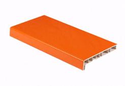 Подоконник ПВХ Crystallit Оранж (глянцевый) 450мм
